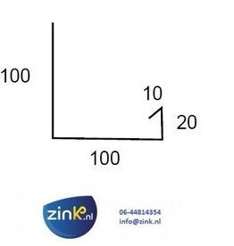 Verholen goot zink 0,8 (type 1) - 3 mtr