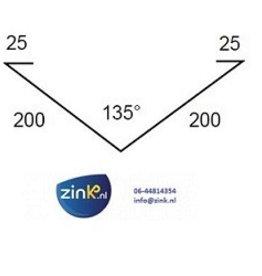 Kilgoot zink 0,8 - 3 mtr