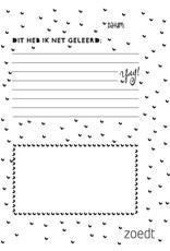 Zoedt Memories & milestones - herinneringenboekje voor kids