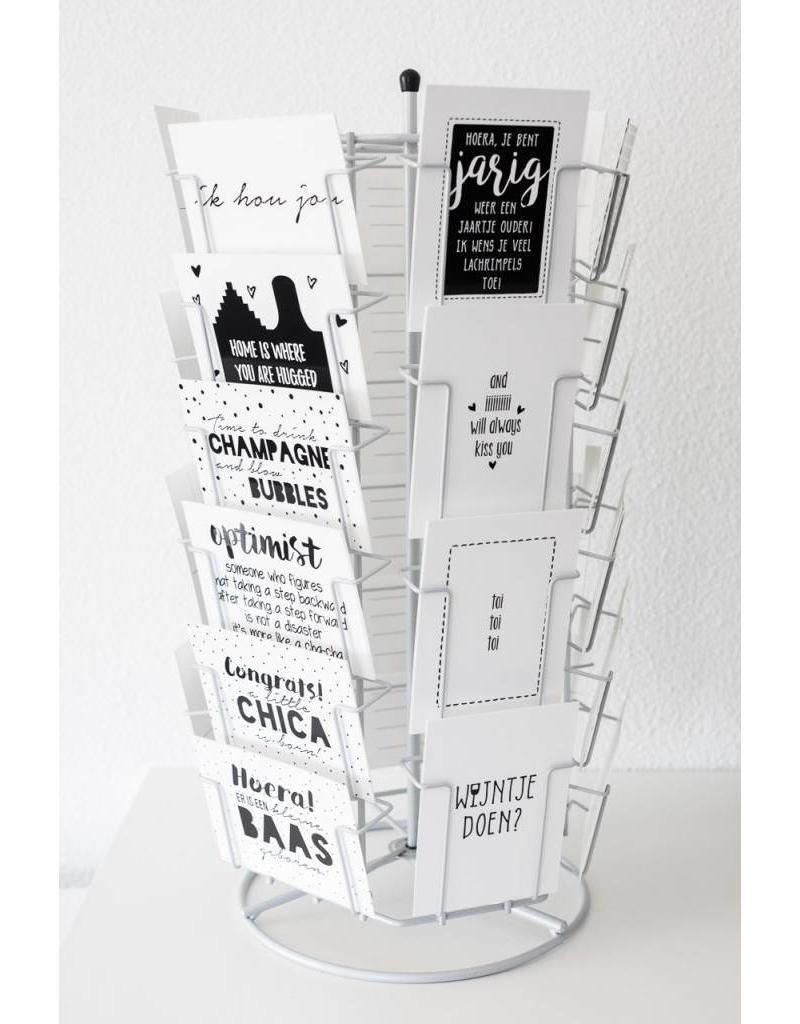 Zoedt Kaartenmolen met ruimte voor 30 kaarten