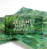 Botanische Tuinenzeep I - mirte & papyrus