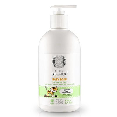 Natura Siberica Baby soap for every day care 500ml 0+