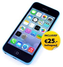 Apple iPhone 5C 16GB met *bliep Prepaid startpakket