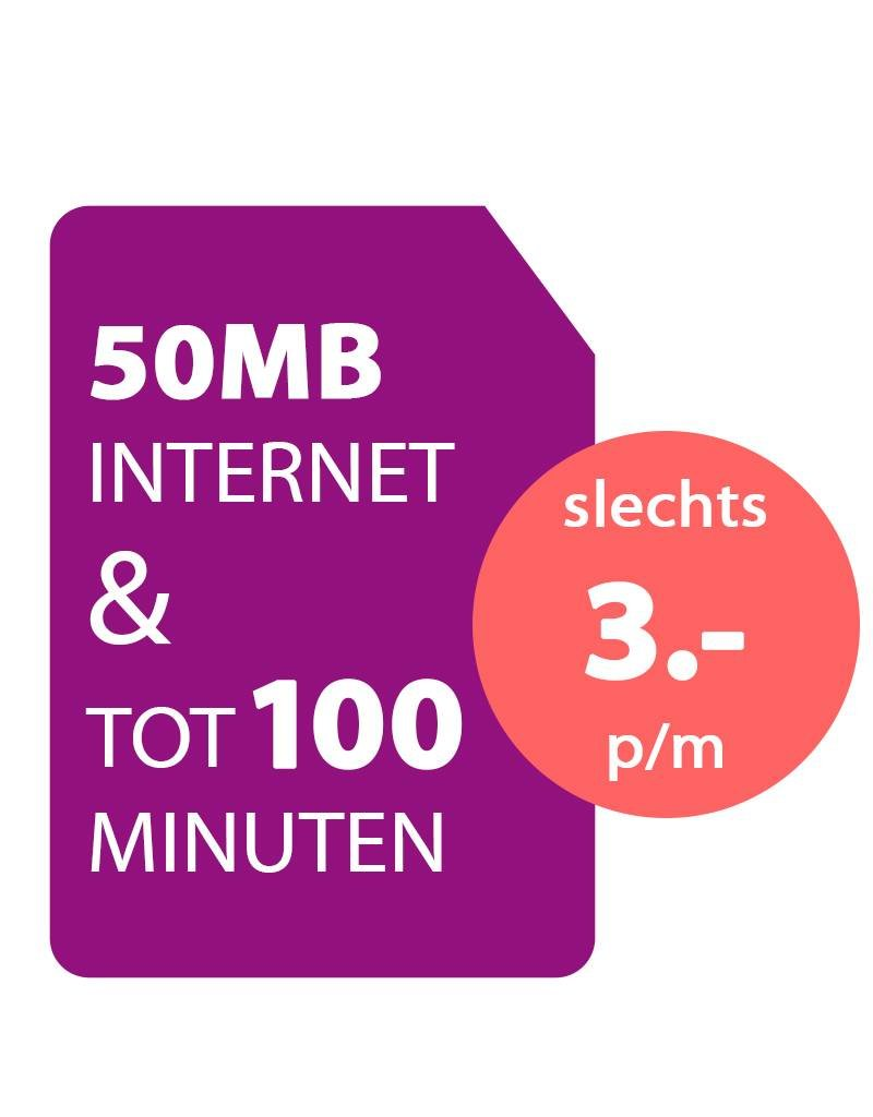 88mobile Sim Only 100 min + 50MB