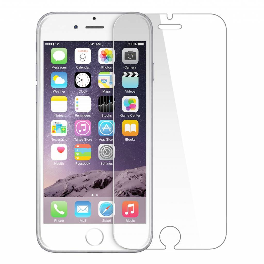 Mobieltekoop.nl iPhone 6 / 6S Plus Tempered Glass screenprotector