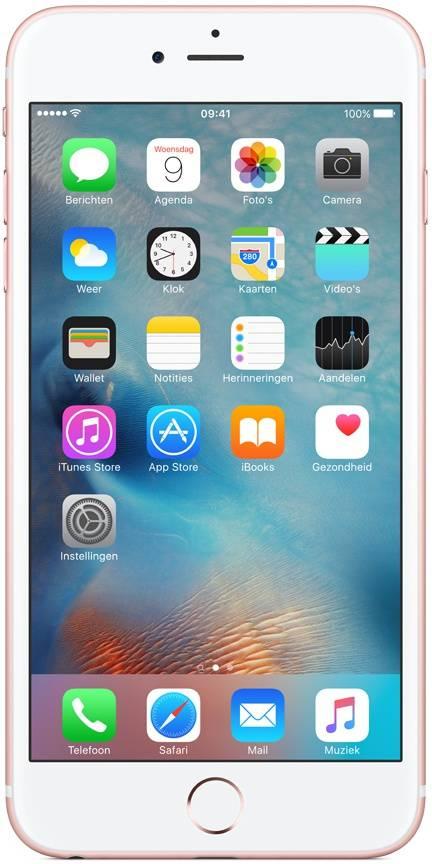 Apple iPhone 6S Plus 32GB Roségoud Refurbished