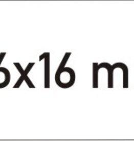 ETIKETTEN WAVE PERM WIT 26*16 9RX1000