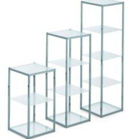 SHOWCASE 4 PLEXI TABL. 34X34X89,5H