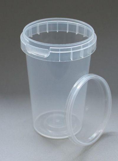 Rundbecher | 225 ml klar | inkl Deckel