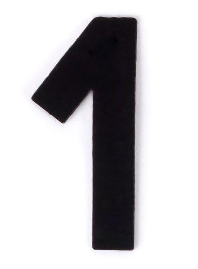 Kaseinzahlen | Nr. 1 | schwarz