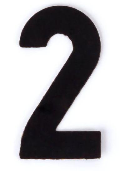 Kaseinzahlen | Nr. 2 | schwarz