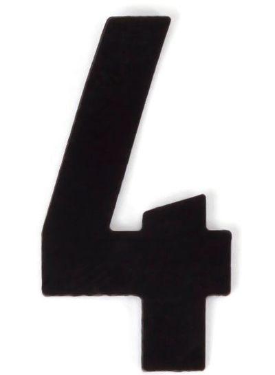 Kaseinzahlen | Nr. 4 | schwarz