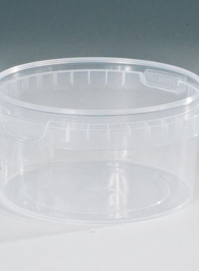 RPC Superfos Rundbecher | 410 ml klar | Ø 118 mm