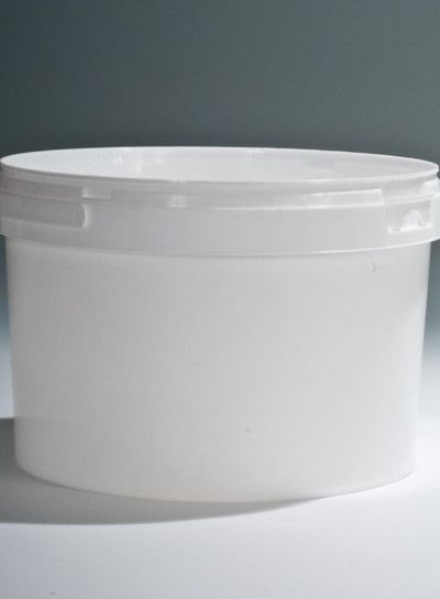 Rundeimer | 3,1 l weiß | Ø 198 mm | mit Henkel
