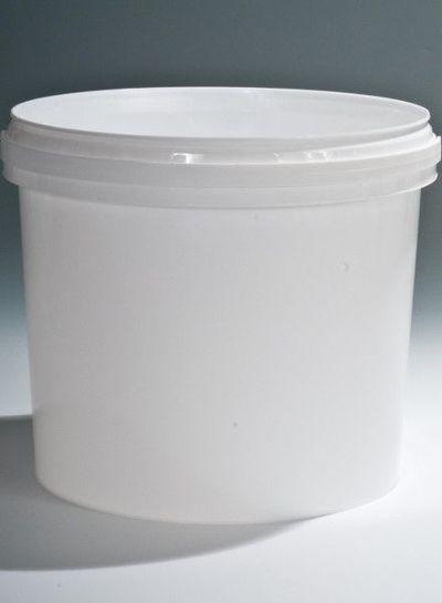 Rundeimer | 5,8 l weiß | Ø 226 mm | mit Henkel