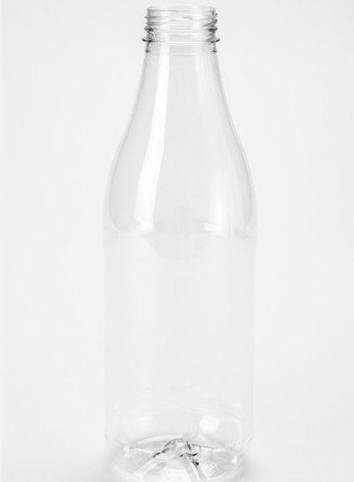 E-proPlast Milchflaschen | 1 l PET | mit Deckel