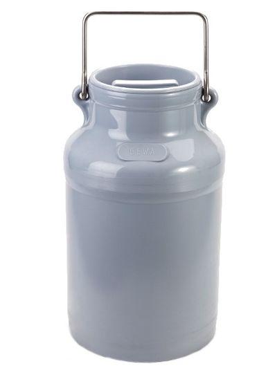 Milchkanne 20l   PE   grau
