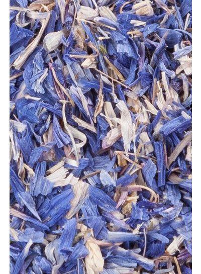Kornblumenblüten | blau | ganz