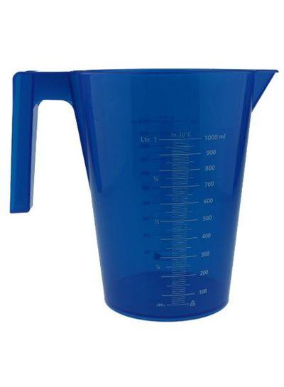 Messbecher | 1.000 ml | mit Henkel | blau