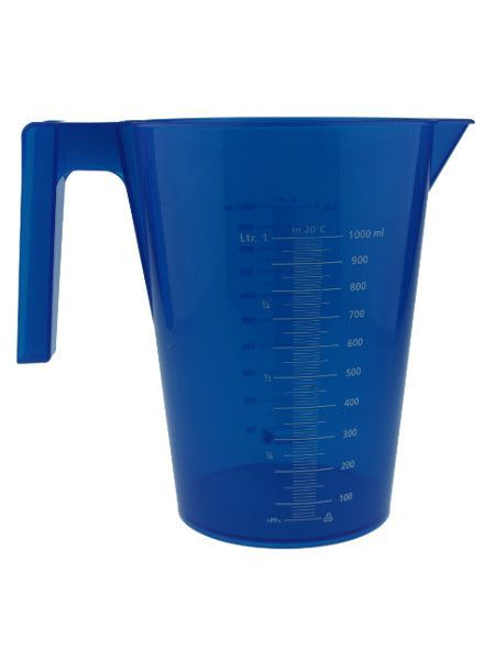 Messbecher | 1.000 ml | blau