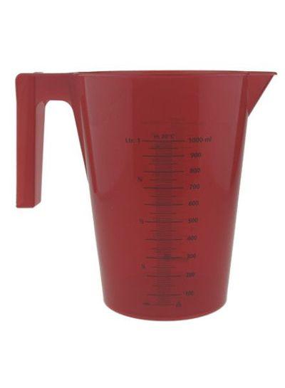 Messbecher | 1.000 ml | mit Henkel | rot