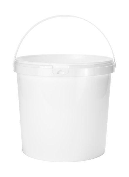 10,8l mit Henkel weiß | Ø 267 mm