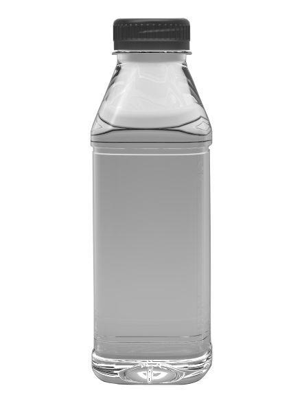 E-proPlast Milchflasche PET | eckig | 0,5 l