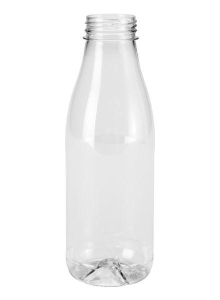 E-proPlast Milchflasche PET | rund | 0,5 l