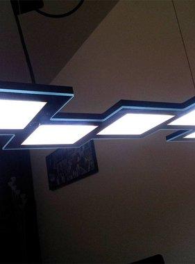 Iseli Light Tech. Quadron 5 Pendelleuchte