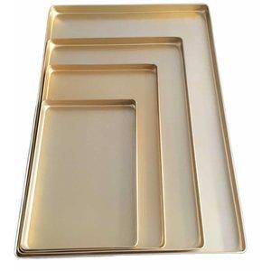 Schneider Ausstellblech Aluminium gold