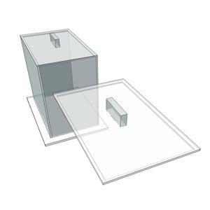 Brezelbox Acryl