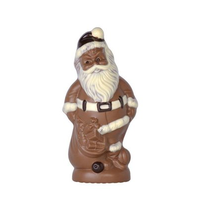 Schokogiessform Weihnachtsmann mit gefülltem Sack
