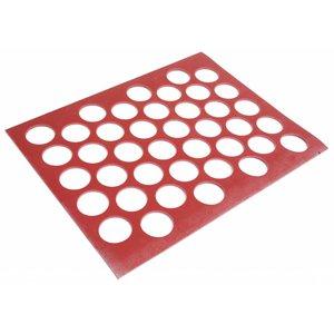 Gummi-Schablone Stärke 6 mm