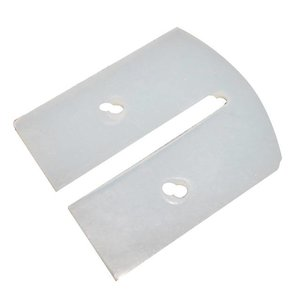 Ersatzteile für Messer-Abstreifbehälter Edelstahl