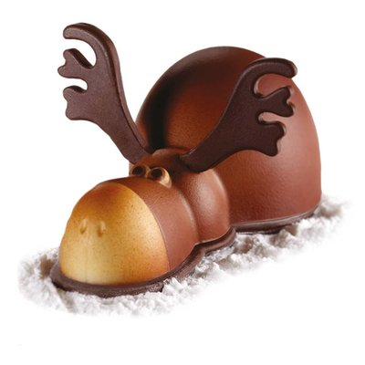 Pavoni Schokogiessform Elch Rudolf