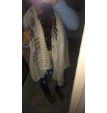 Sjaal BLUE COGNAC