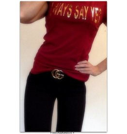 SAY YES TEE