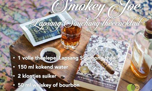 Smokey Joe - Lapsang Souchong theecocktail voor de feestdagen