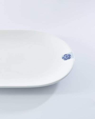 Royal Delft Oval Plate - Touch of Blue