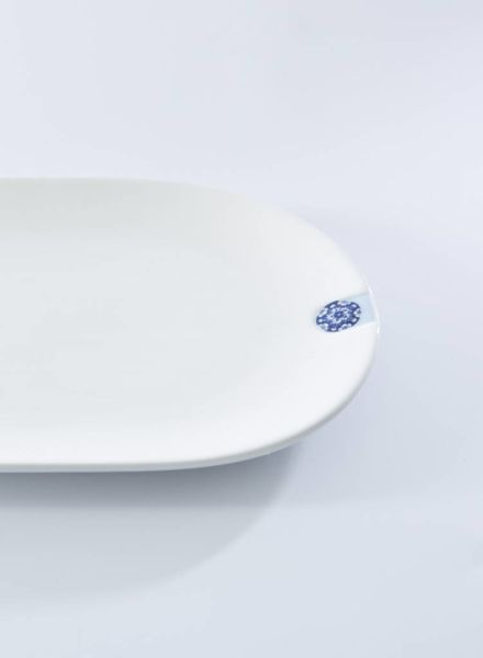 Royal Delft Blue D1653-Oval Plate