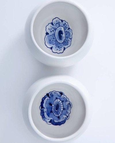 Royal Delft Blue Belly Tea Mugs (set van 2)