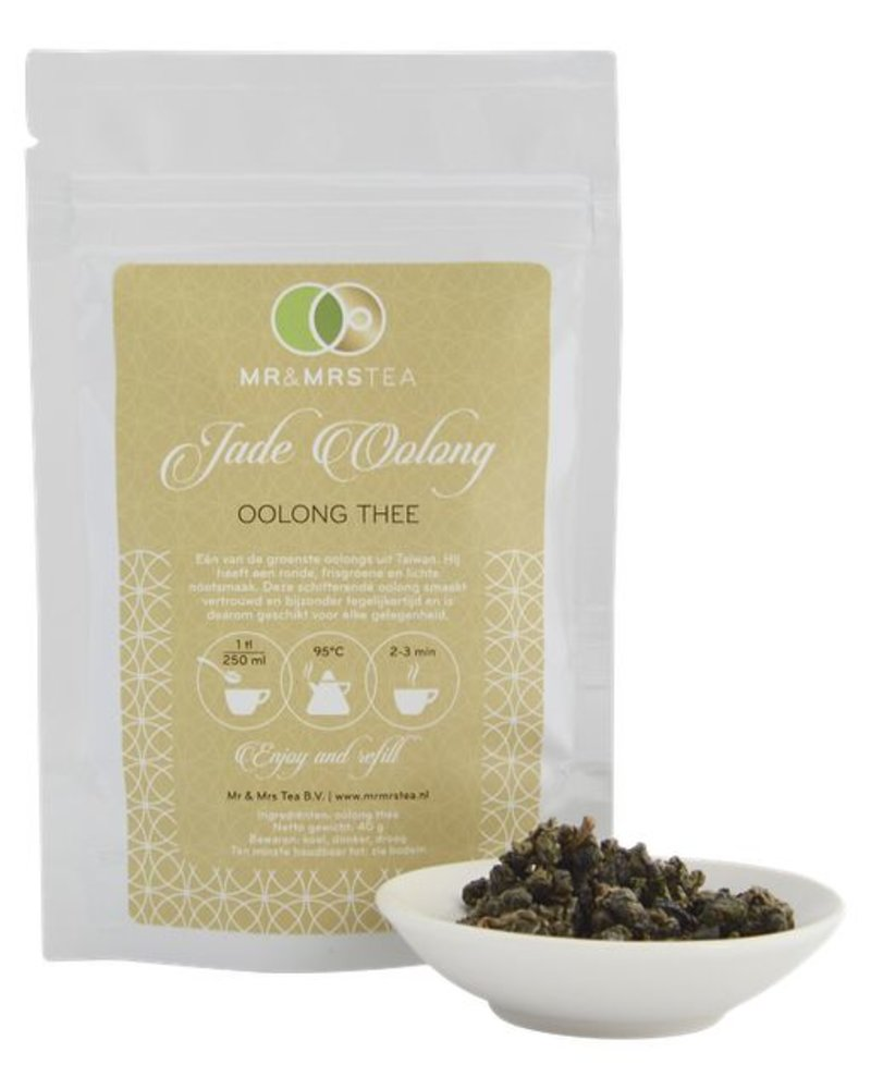 Mr & Mrs Tea Jade Oolong - Oolong thee