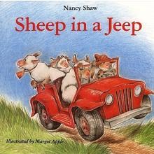 Nancy Shaw Seussian Sheep in a Jeep