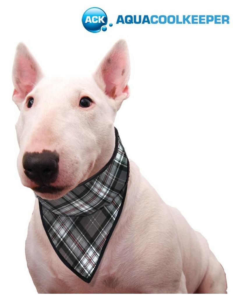 Aqua Coolkeeper Honden Koel bandana Scottish Grey