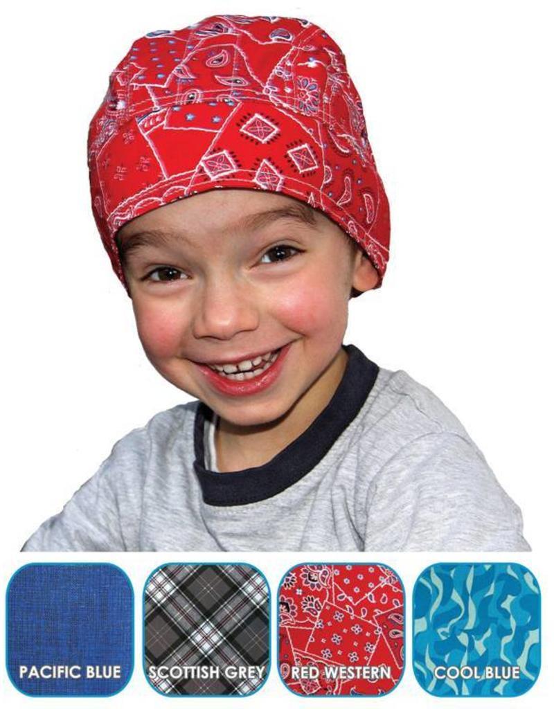 Aqua Coolkeeper Koel Bandana Cool Blue Kids