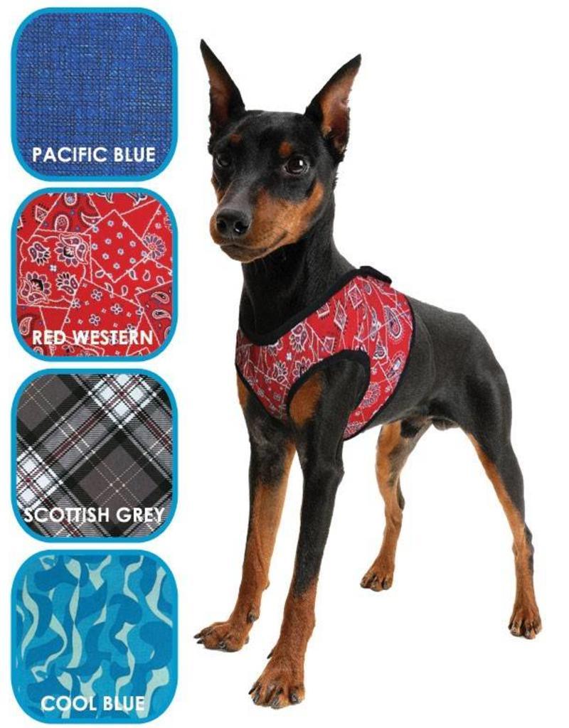 Aqua Coolkeeper Pet Cooling harness Roses