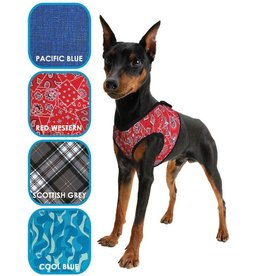 Aqua Coolkeeper Pet Cooling harness Cool Blue