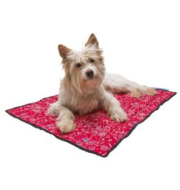 Aqua Coolkeeper Dog Cooling pad Red Western