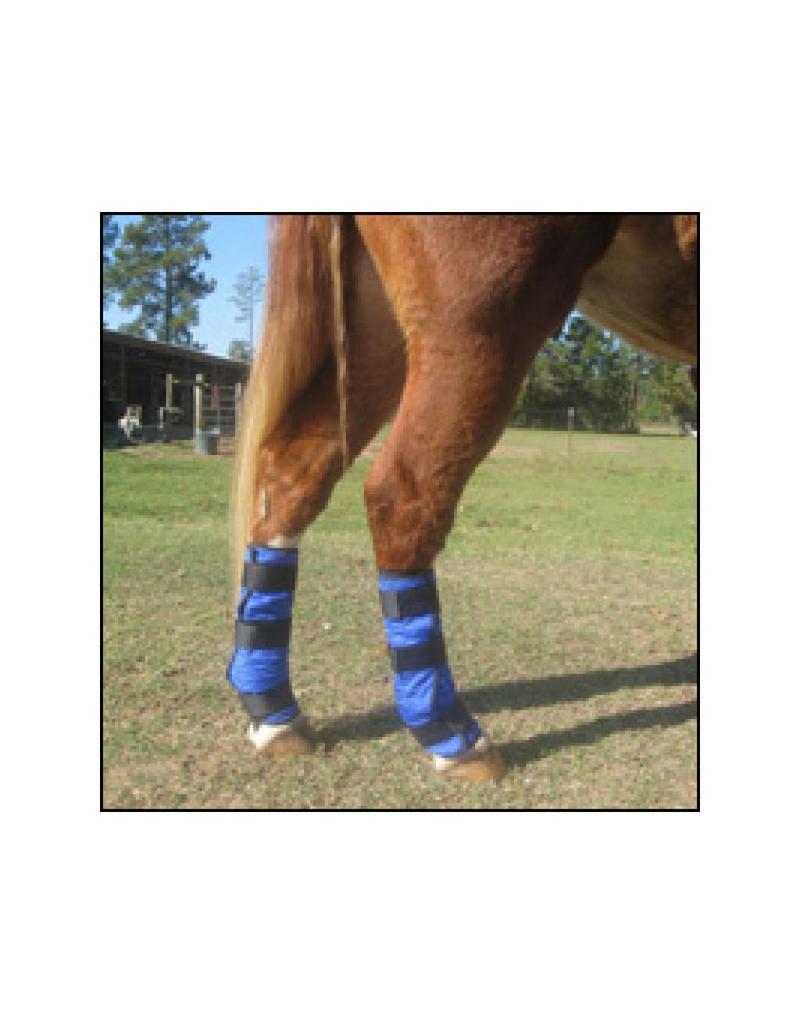 HyperKewl Cooling Horse Leg Wraps Blauw