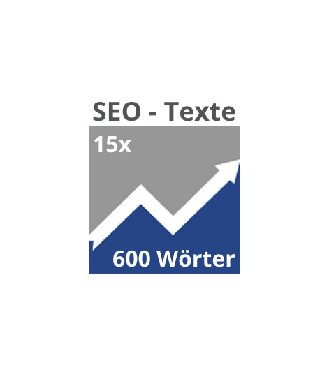 15x SEO-Texte (600 Wörter)